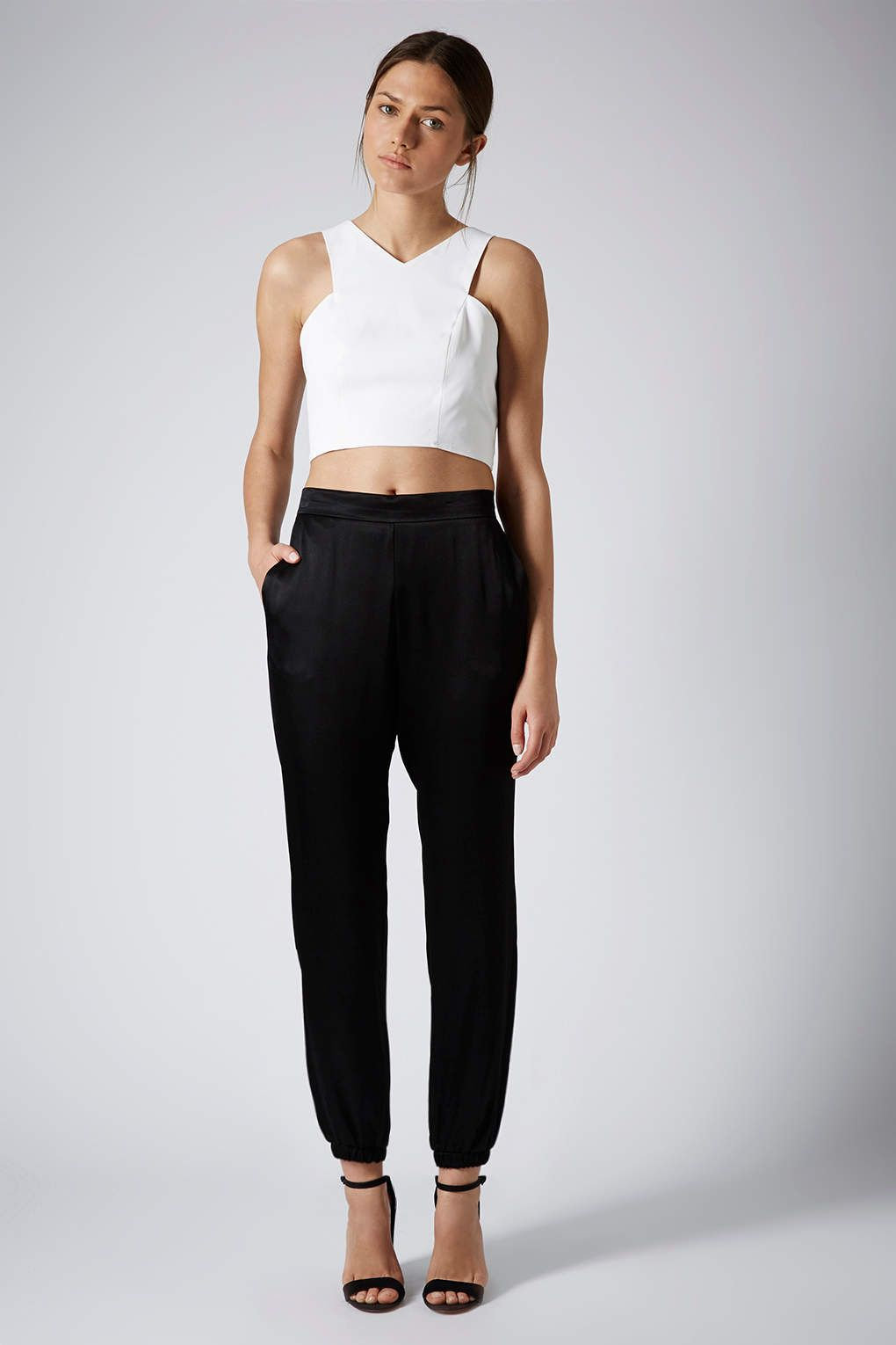Formal Satin Joggers - Trousers & Leggings - Clothing ...