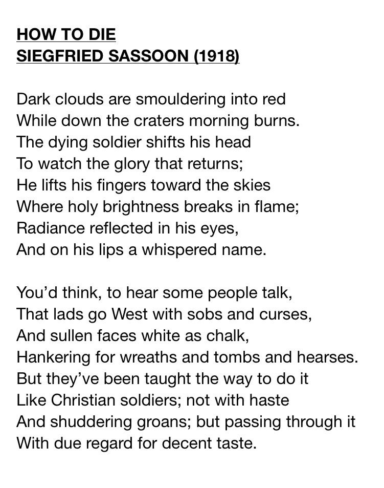 world war one poetry - Google Search | Poetry | Pinterest | Poem