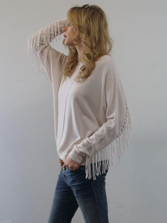 Minnie Rose Cashmere Wild West Sweater