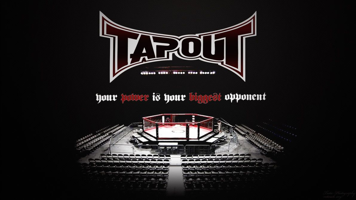 Wallpapers Crayons Tapout The Octagon Ufc Mma 1191x670 Hey Sports