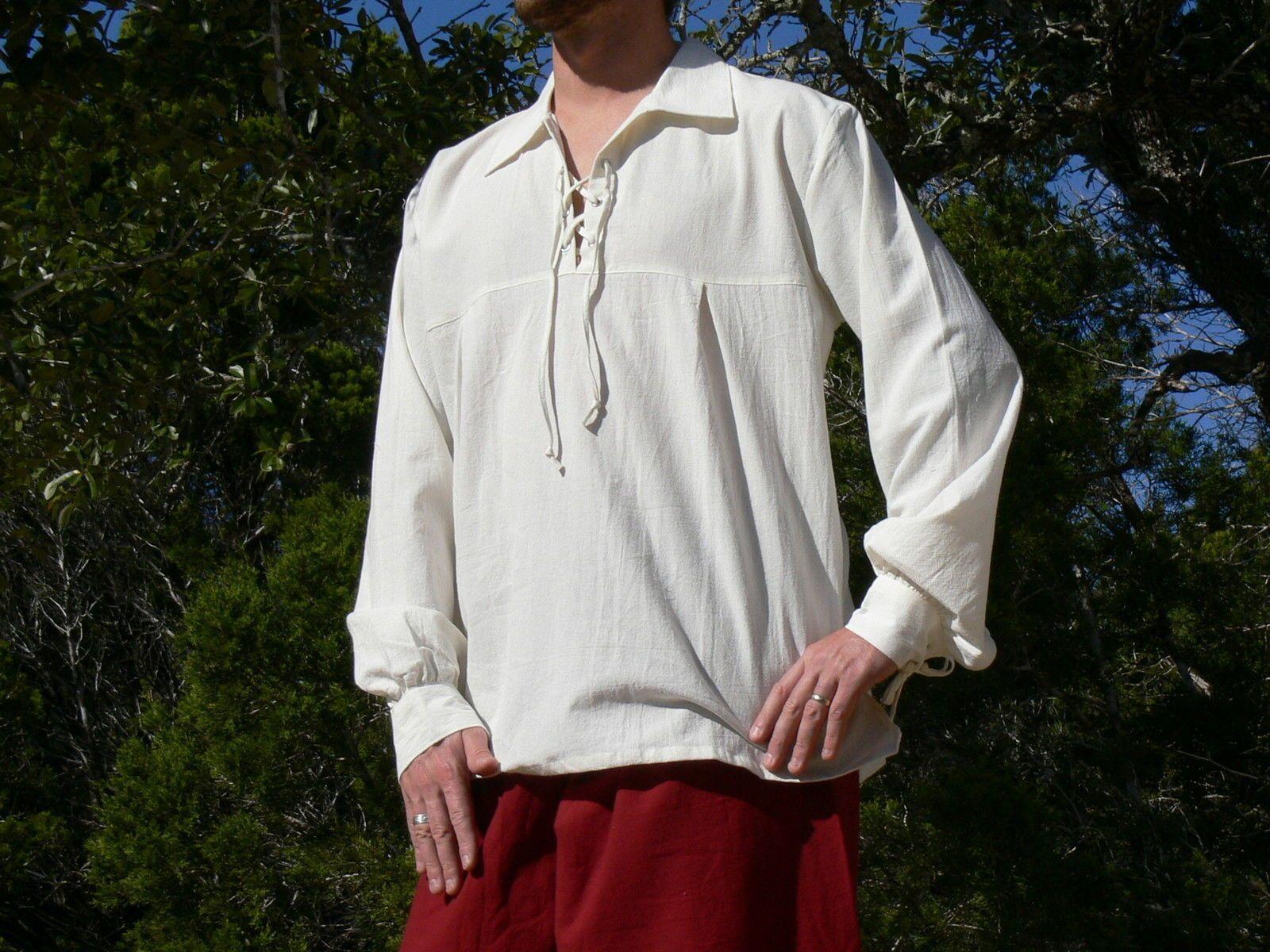 Men's Renaissance Shirt -X-Large Xtq9C
