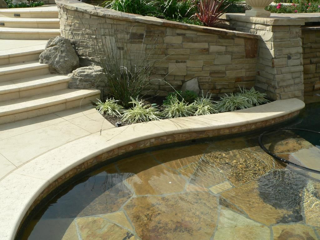 Stamped Concrete Coping Like This Stone Pool Concrete Pool Pool Coping