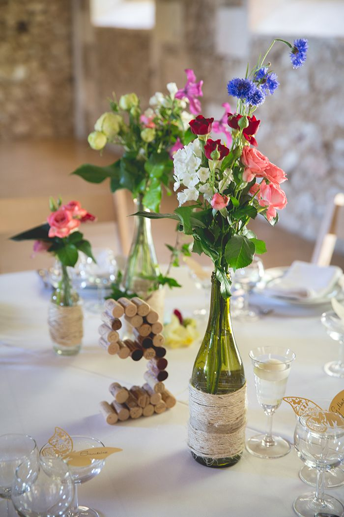 Un Mariage Multicolore A Bergerac Idees Mariage Table Mariage