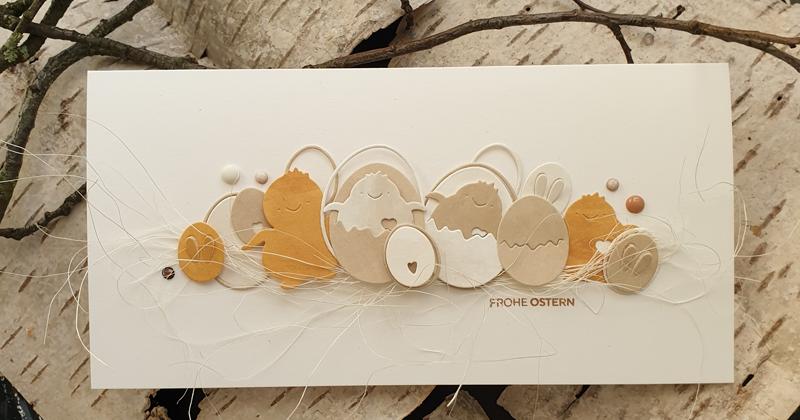 Frohe Ostern Hase Metall Stencil Cutting Dies Scrapbooking Stanzschablone Karte