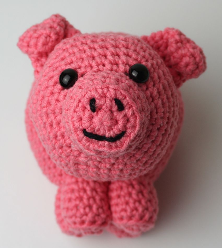 Dorable Free Pig Crochet Pattern Photos - Sewing Pattern for Wedding ...