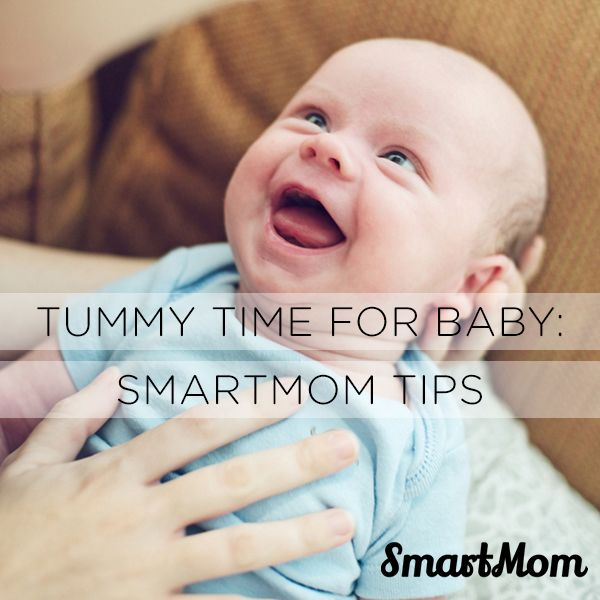 Tummy Time For Baby - SmartMom Tips