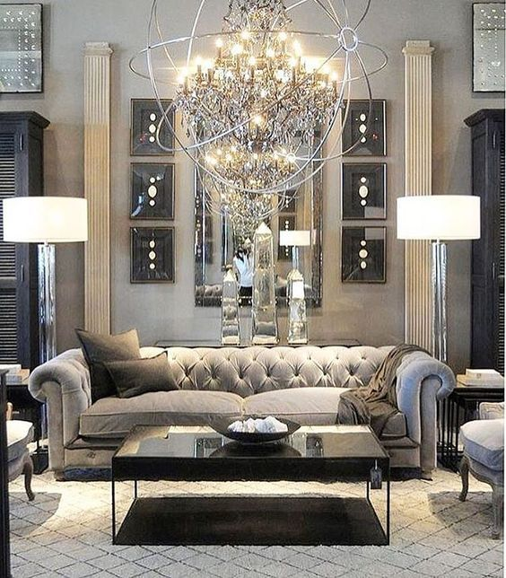 Modern Center Tables For Luxury Living Rooms Restoration Hardware Living Room Glam Living Room Living Room Designs