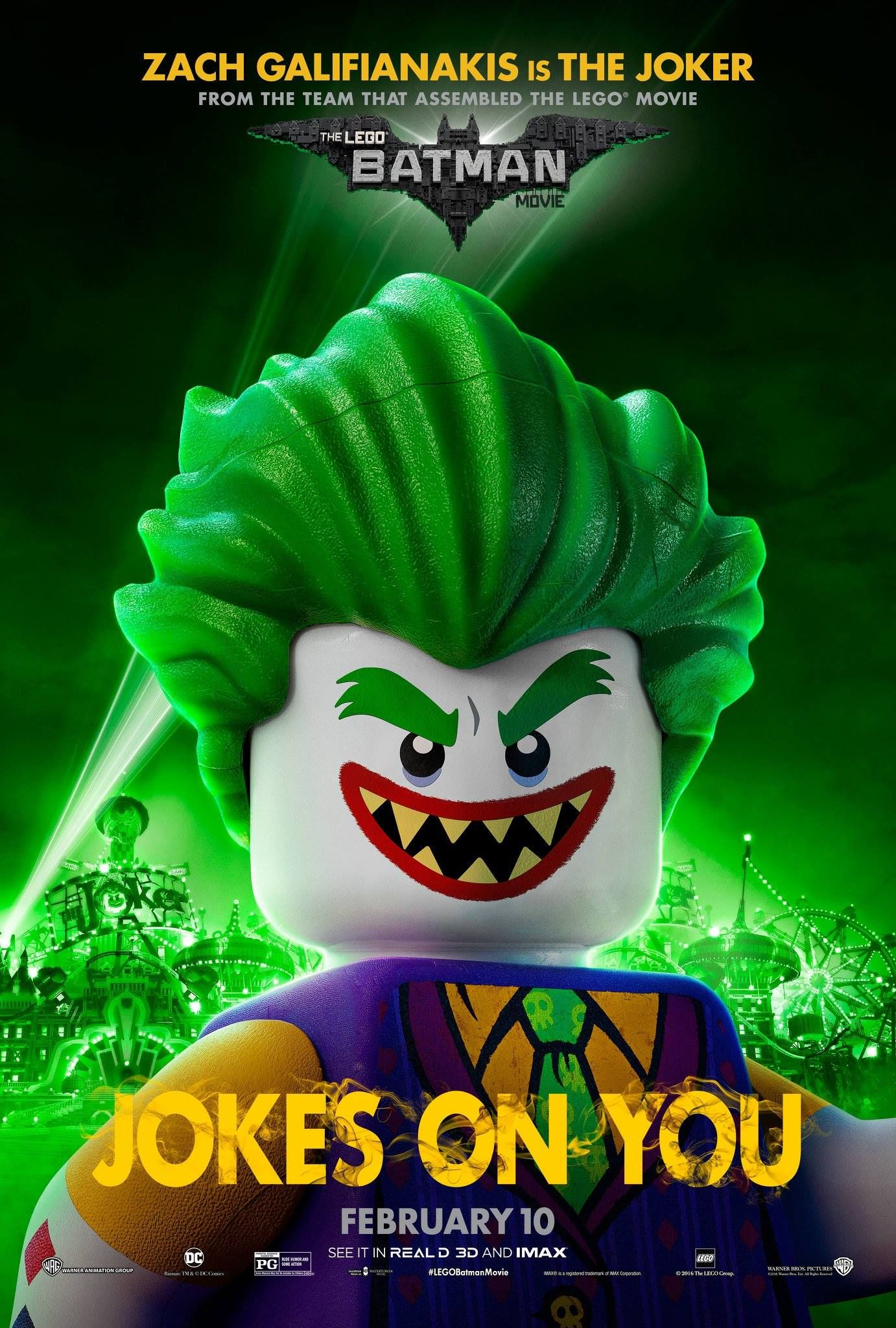 Six New Lego Batman Movie Posters Just Make It Look Better And