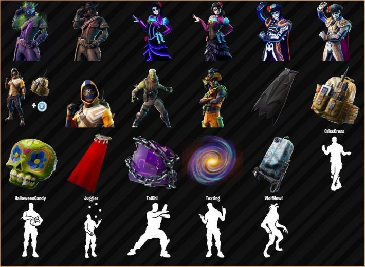 Halloween Fortnite 2020 skin vert halloween fortnite New Fortnite Halloween Skins Are