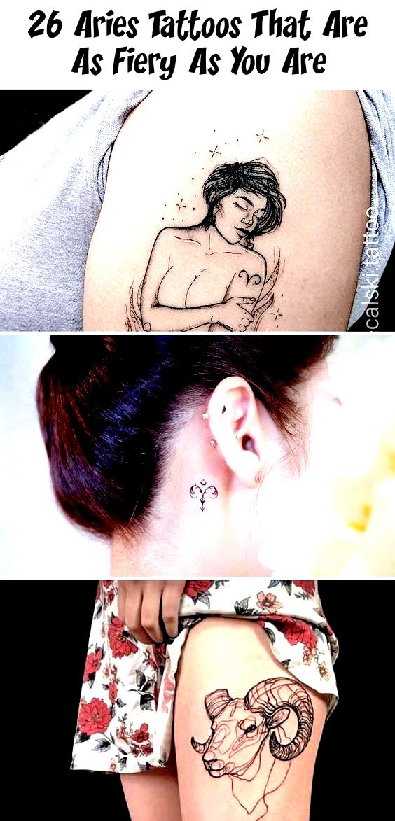 Photo of 15 Widder Tattoos, die anspruchsvoll und feurig sind -Ourmindfullife.com // Tierkreis …
