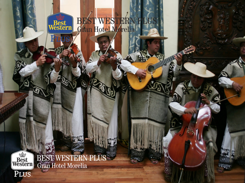 EL MEJOR HOTEL DE MORELIA. El sonecito purépecha, también conocido como son regional, es un género instrumental que se acompaña de instrumentos de cuerda o con una banda de viento. Generalmente podrá escucharlo en las festividades importantes de algunas regiones de Michoacán. En Best Western Plus Morelia, le invitamos a hospedarse con nosotros; por nuestra ubicación en el centro, seguro podrá disfrutar de la música tradicional de Michoacán.  #bestwesternmorelia