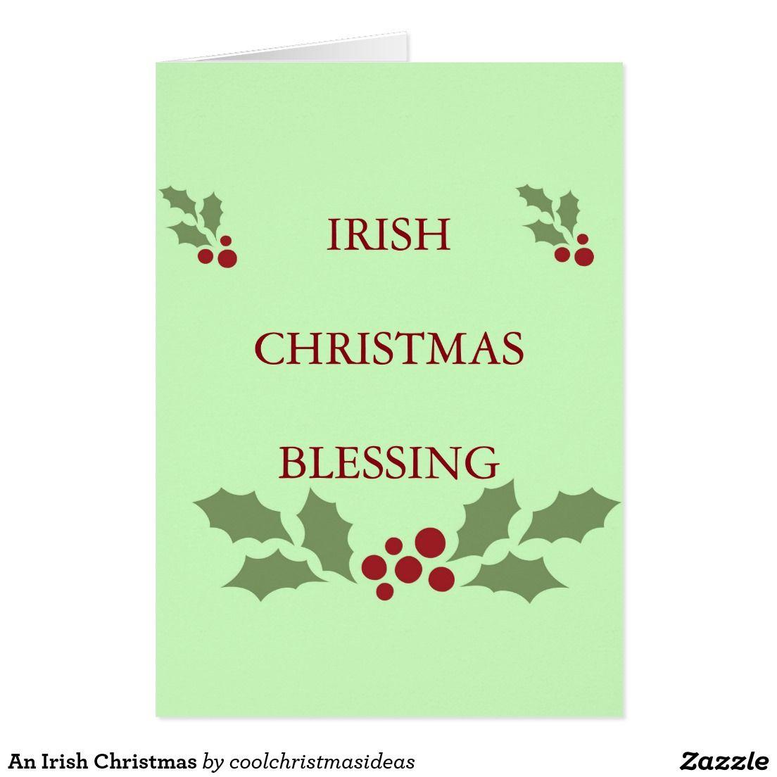 An Irish Christmas Card | Christmas greeting cards