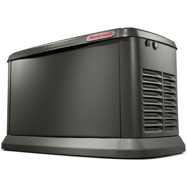 Honeywell 70581 11 Kw Air Cooled Aluminum Home Standby Generator W Wi Fi Home Backup Generator Wifi Cool Stuff