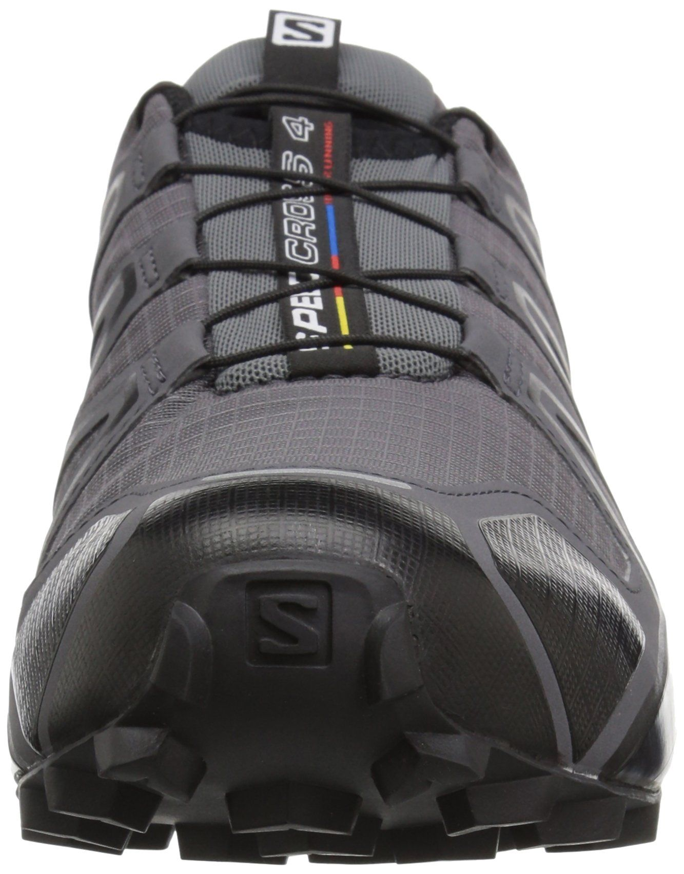 Salomon Mens Speedcross 4 Trail Running Shoe Dark Cloud 8 Wide US     Details can be found by clicking on the image. (This is an affiliate link) 438ab4e93f3