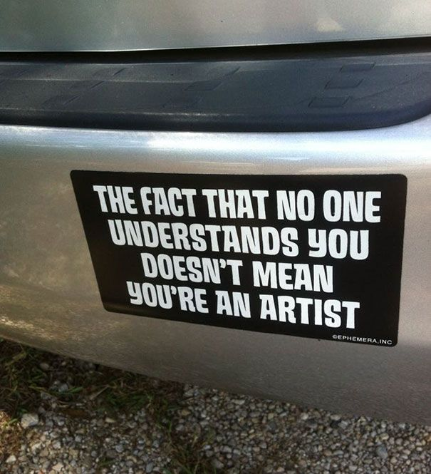 Cool Bumper Decals