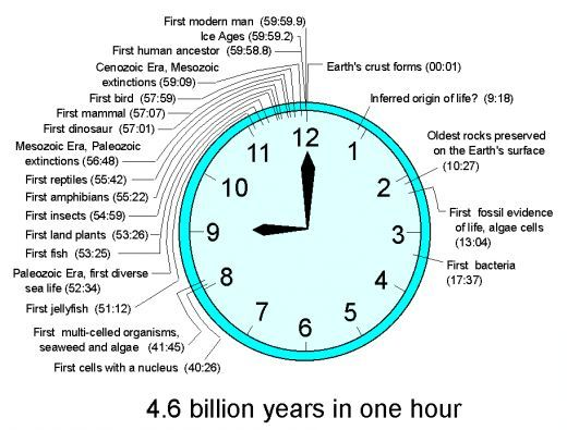 Geologic Time Scale Clock Google Search Geologic Time Scale Unit