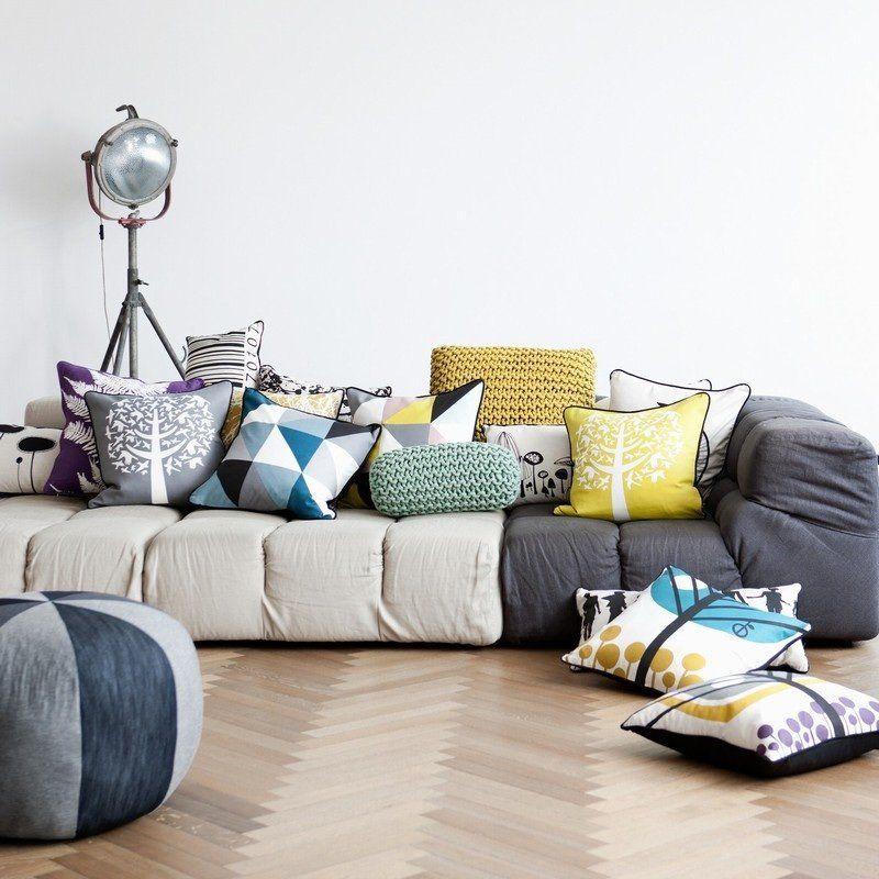 Ferm Living Shop — Floor Pillow - Yellow