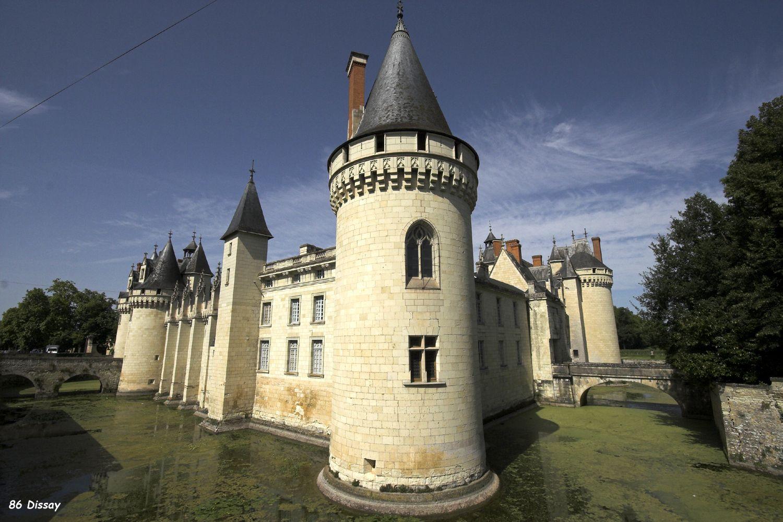 Château de Dissay. Dissay 86130. Poitou (Vendée).