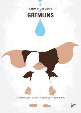 minimal minimalism minimalist movie poster chungkong film artwork design gremlins gizmo Movies & TV