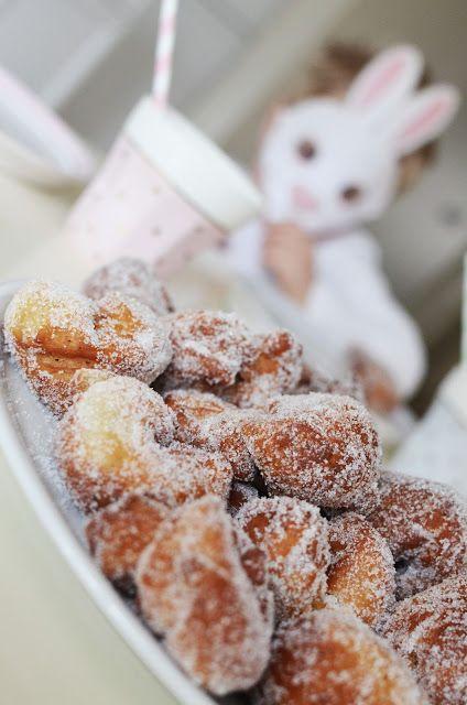 May Day sugar donuts - Vappumunkkeja