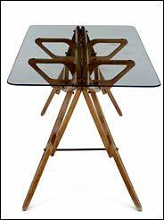 Carlo Mollino Reale Table By Zanotta