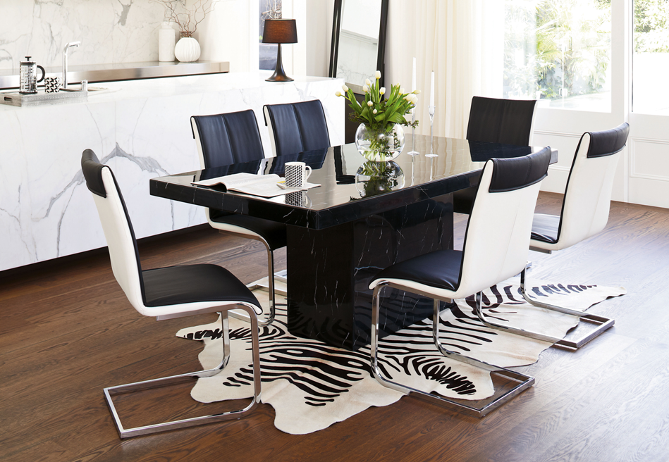 Noche Rectangular Dining Table by Collage from Harvey