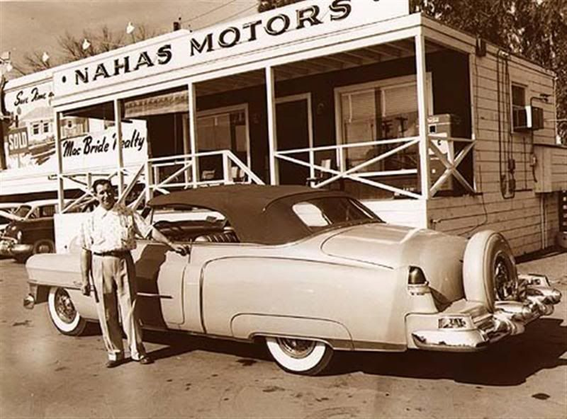 Vintage shots from days gone by! Car dealership, Used