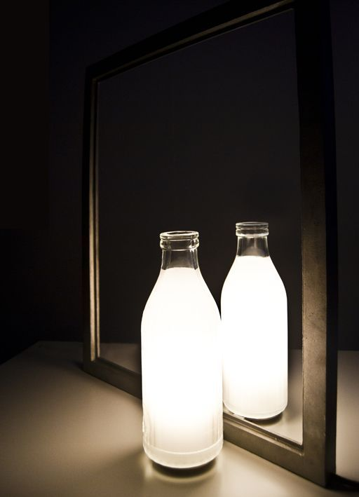 Litro Di Luce is a luminal sculpture designed by Marcello Chiarenza and produced by ViaBizzuno
