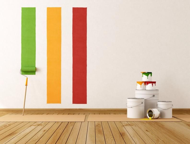 Wall Painting Tips On Choosing Colors And Types Of Paint