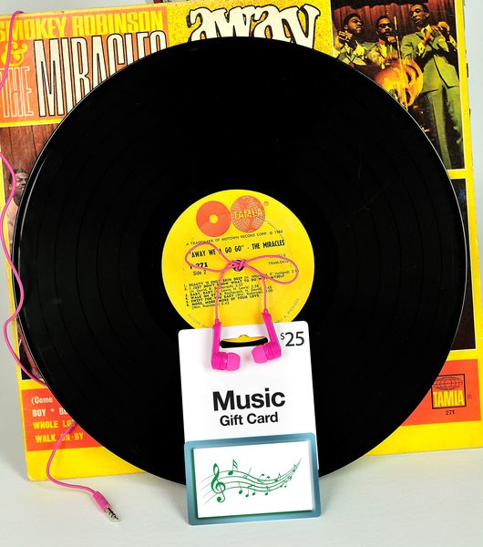 Go Retro To Give A Music Downloading Gift Card. Add A Pair