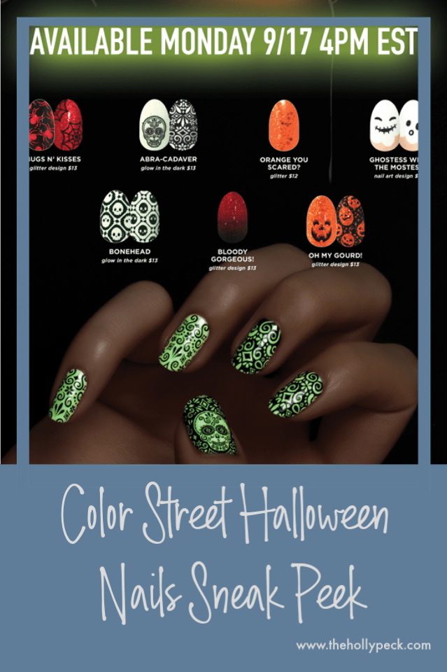 Color Street Halloween Nails Color Street Color Street Nails