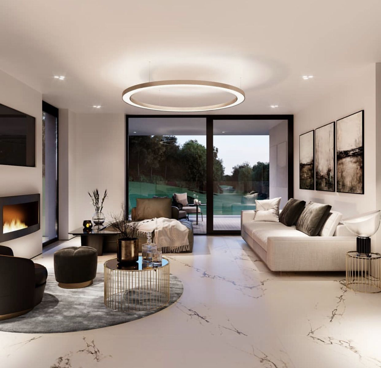 Making Your Living Room Look And Feel More Luxurious Luxury