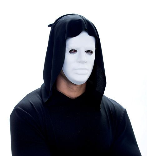 Blank Face Masks To Decorate Fancy Phantom White Mask Costume Mask Blank White Face Mask