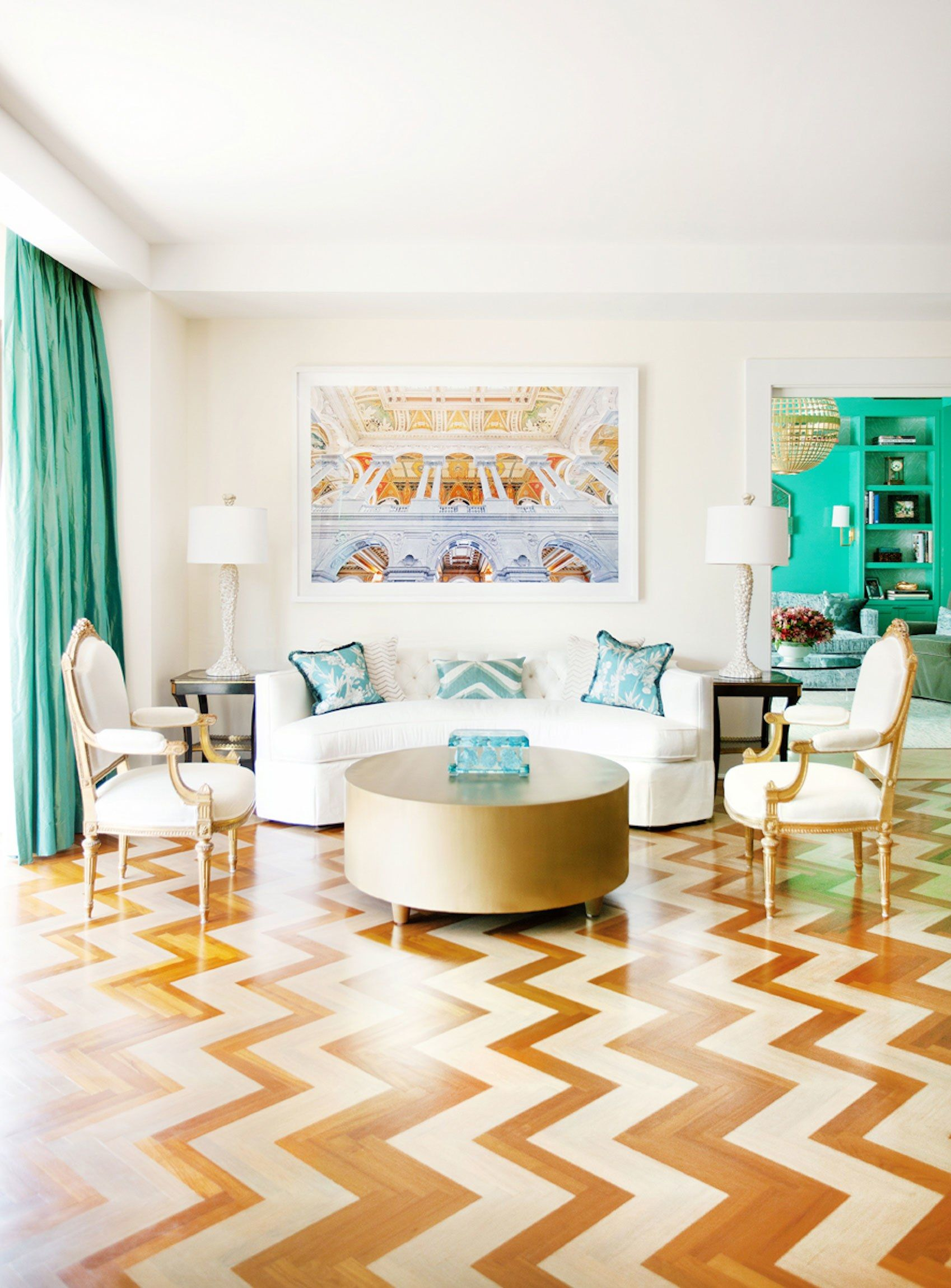 Big, Bold Color Punches Up a Historic Washington, D.C., Home ...