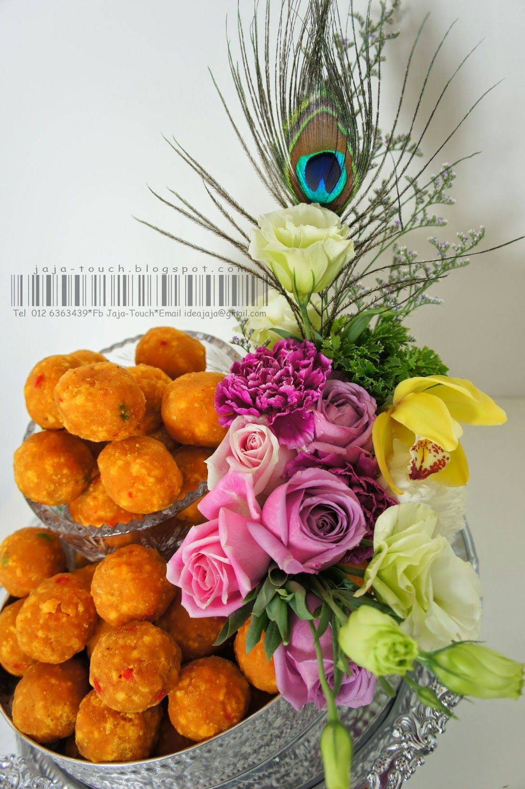 Engagement Tray Decoration Indian Tradition Sweet Laddoo  Engagement  Pinterest  Indian
