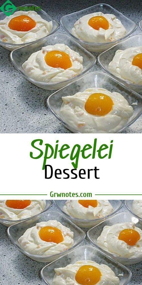 Photo of Spiegelei Dessert Zutaten 400 ml Milch 1 Pck. Puddingpulver, Van