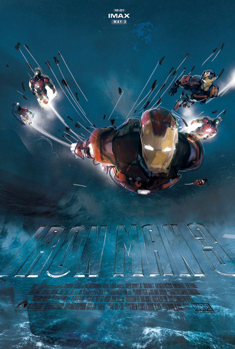 IRON MAN 3 - Alternate Jock IMAX Poster Designs and New TVSpot - News - GeekTyrant