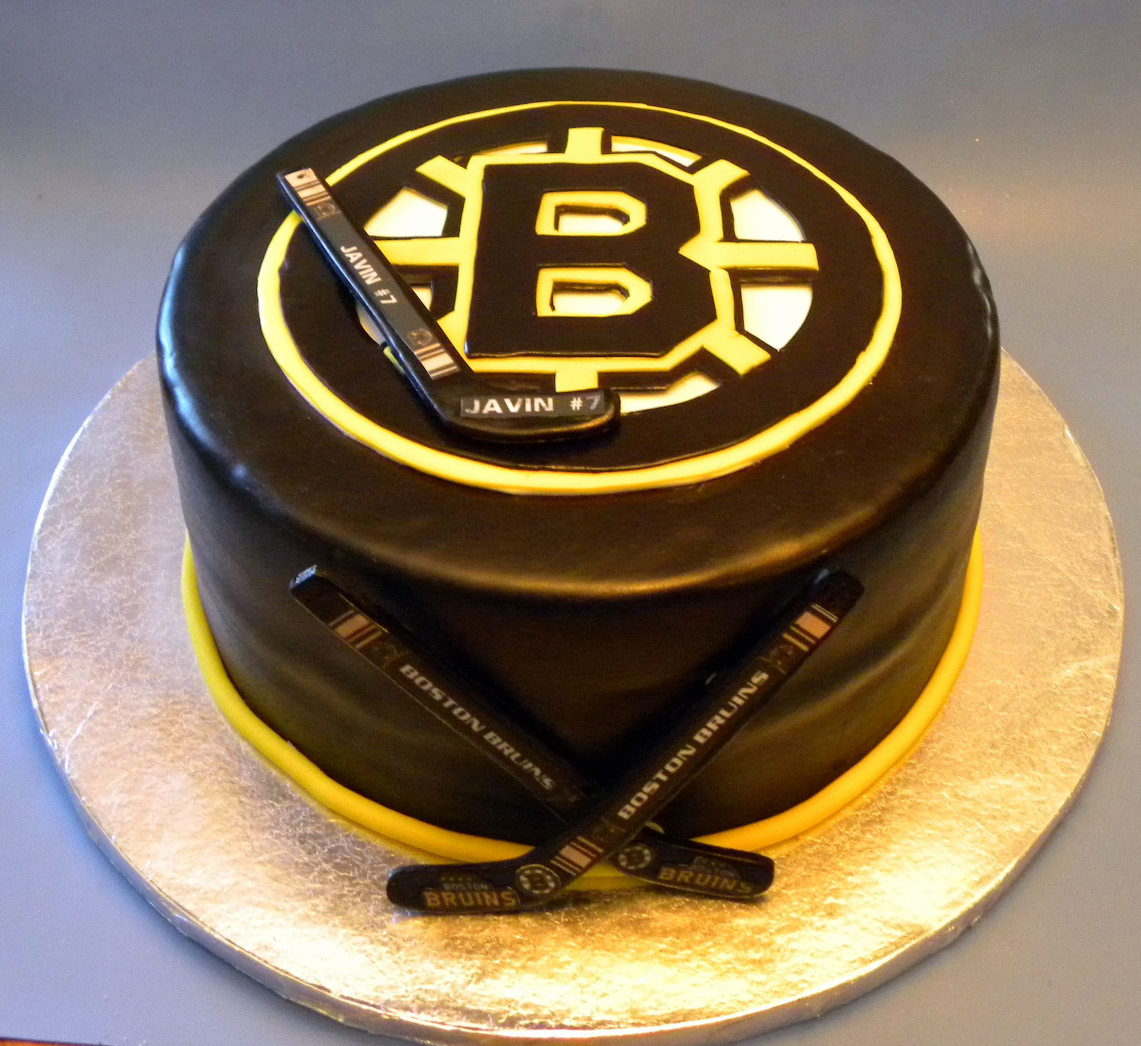 Boston Bruins Cake Decorating Community Cakes We Bake Bruins Love