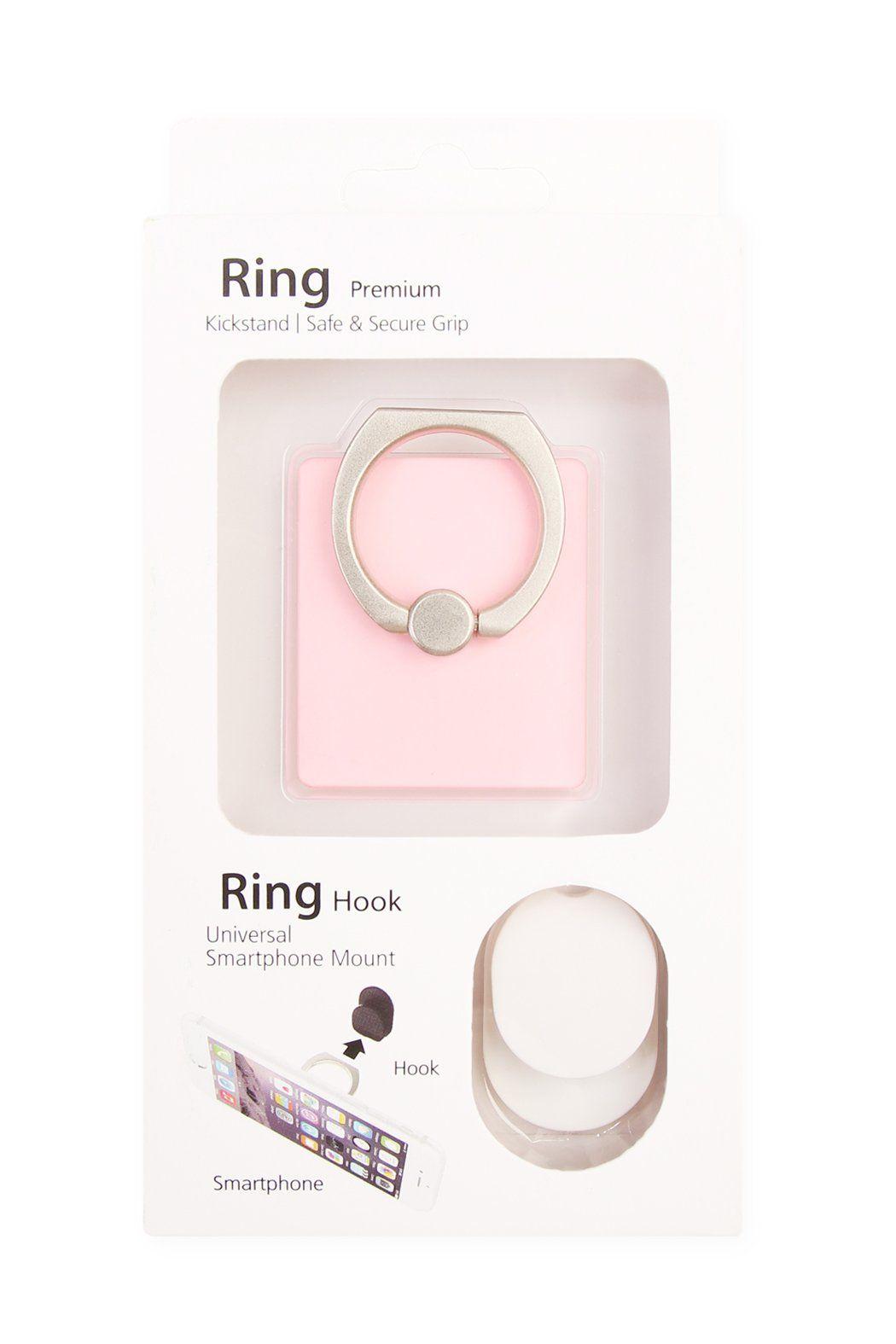 Ring Premium Kickstand /& Secure Grip Silver