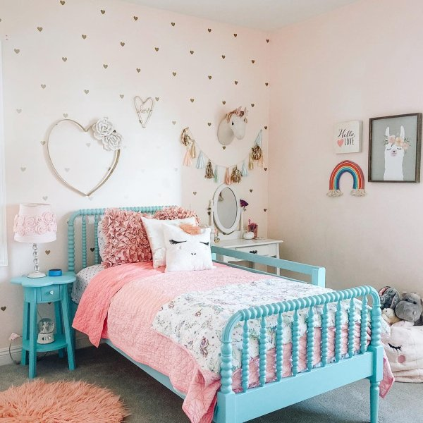 Jenny Lind Teal Twin Bed in 2020
