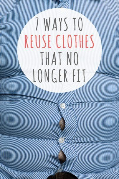7 Ways to Reuse Clothes That No Longer Fit -   11 DIY Clothes Upcycle tips ideas