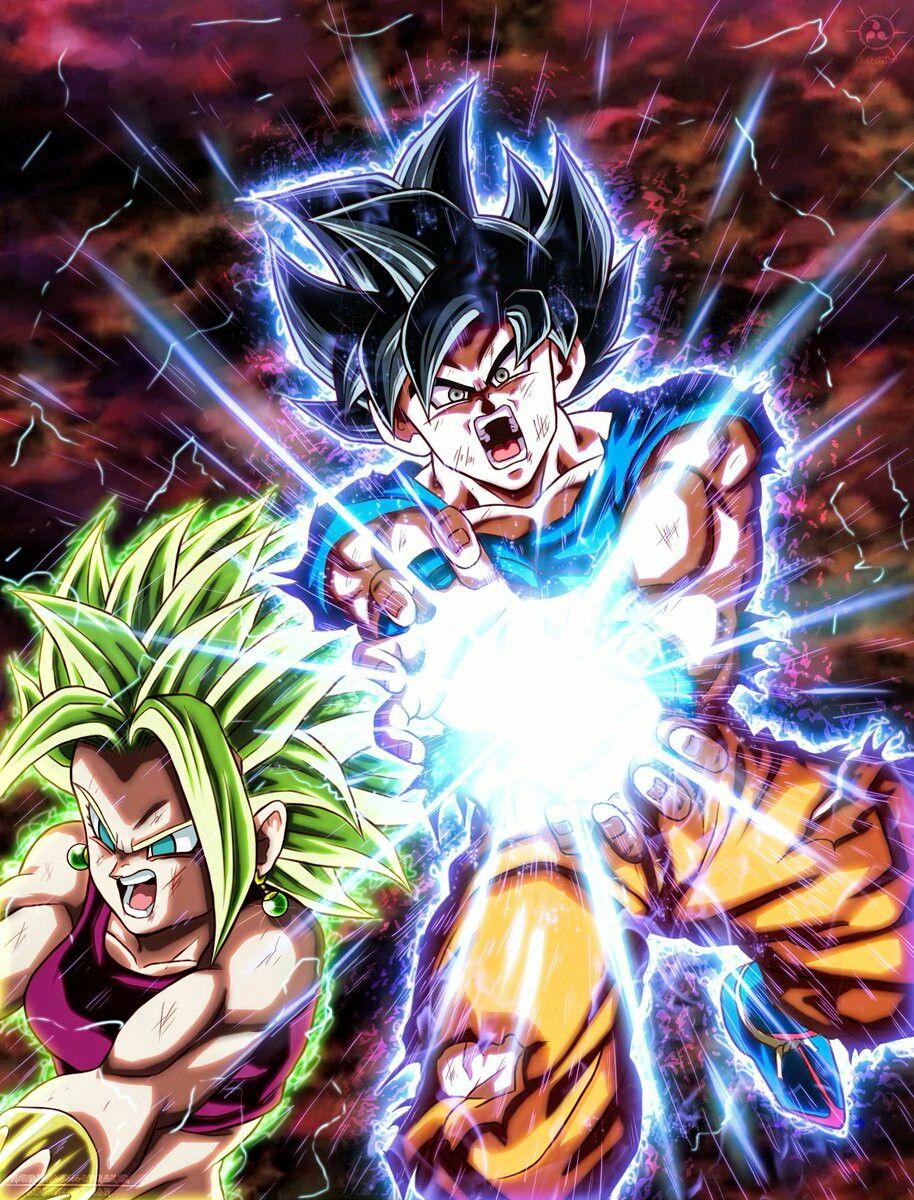 Goku And Kefla Anime Dragon Ball Super Dragon Ball Dragon Ball Super Goku
