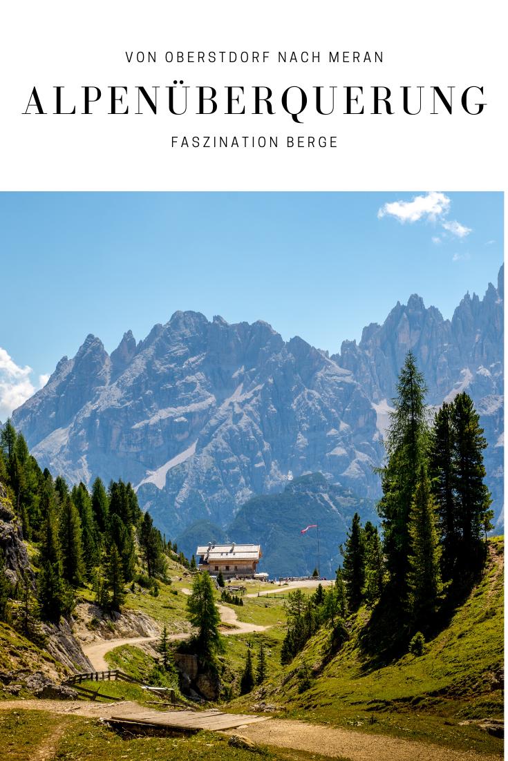 Finde Alle Wichtigen Infos Zur Alpenuberquerung Von Oberstdorf Bis