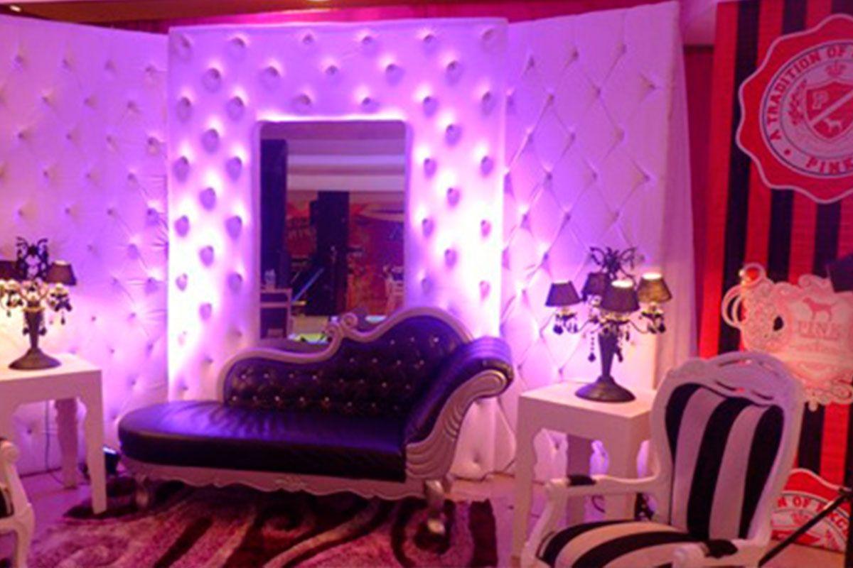 Fiestas tematica, decoracion tem victoria secret, love pink, fiesta ...
