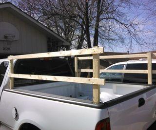 Truck Side Rails >> Craft Diy Truck Side Rails For Under 20 Diy Truck