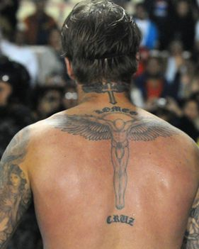 back David tattoo beckham