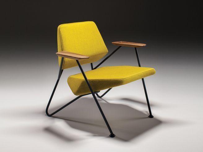 Prostoria Polygon Fauteuil : Prostoria fauteuil polygon str couleur ral lama jaune