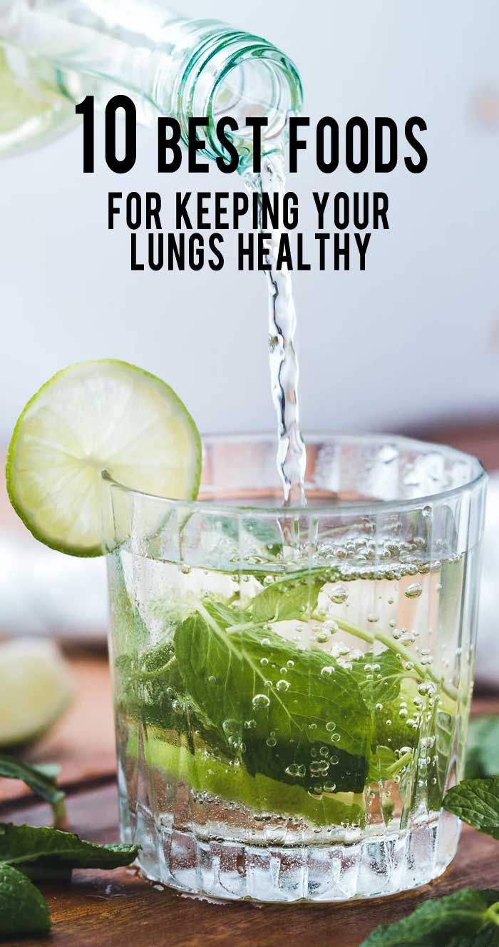 10 Best Foods For Keeping Your Lungs Healthy Lunges