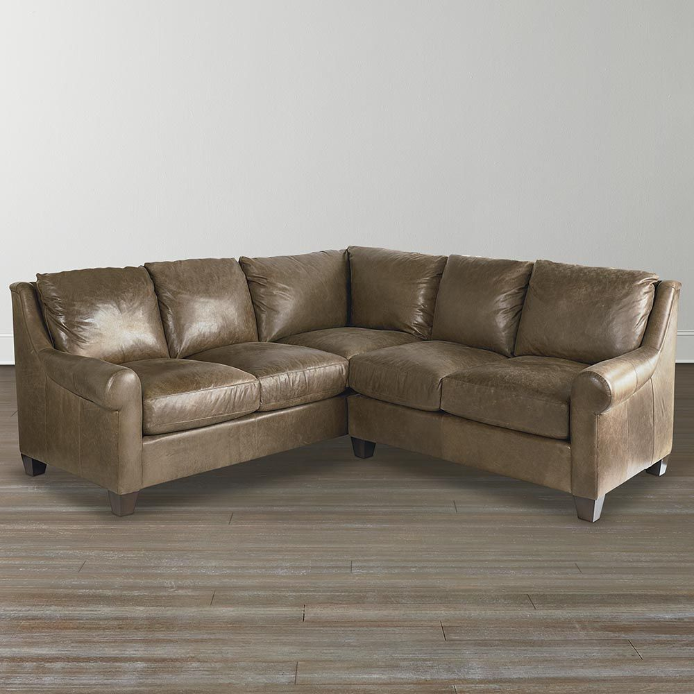 American Casual Ellery Small L Shaped Sectional Sofas