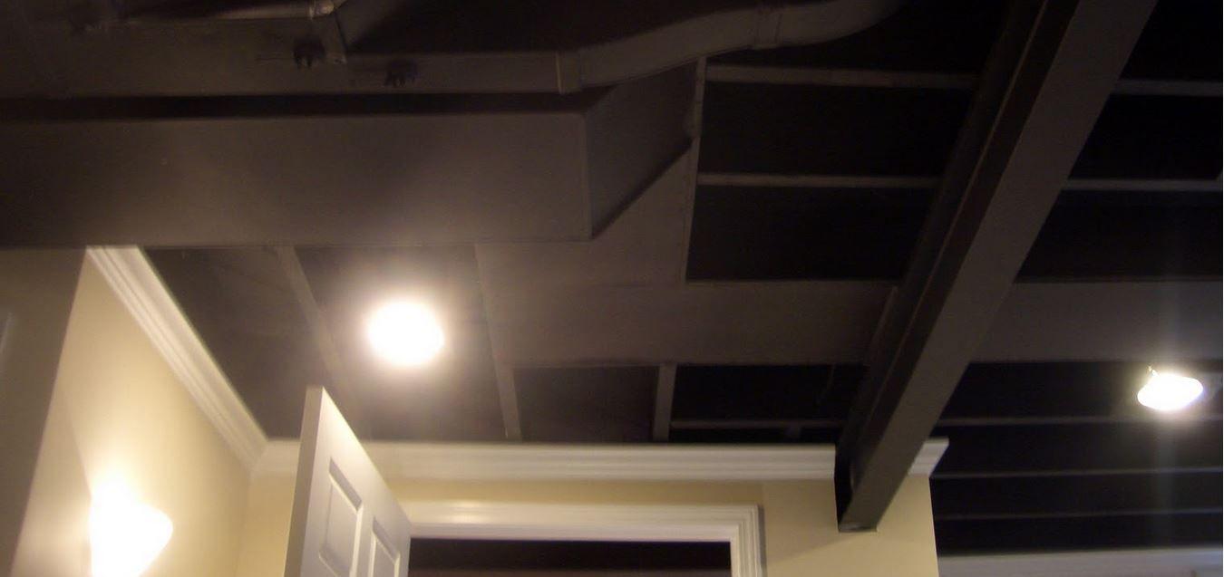 Diy Unfinished Basement Ceiling Ideas Ceiling Ideas